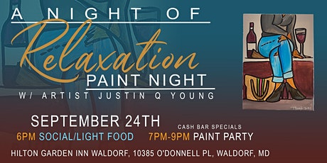 A Night Of Relaxation Paint Night tickets
