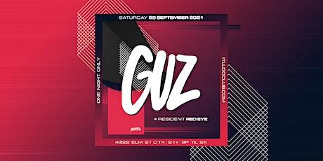 Guz at It'll Do Club tickets