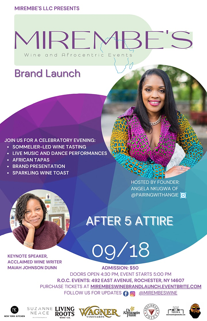 Mirembe's Wine and Afrocentric Events Brand Launch image