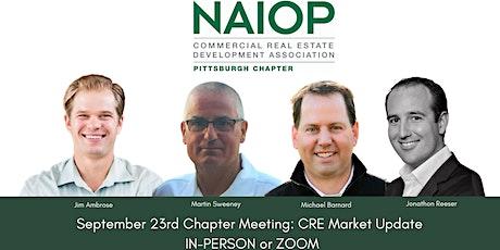 September 23, 2021 Chapter Meeting: CRE Market Update tickets