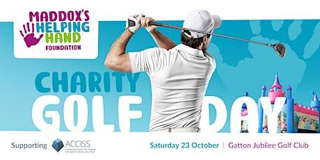 Maddox's Helping Hand Foundation Ltd.  Golf & Family Fun Day tickets
