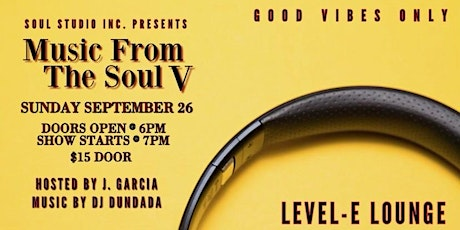 Music From the Soul Part 5 tickets