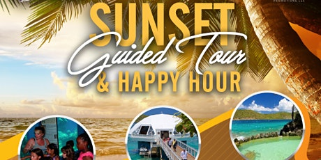 Sunset Guided Tour of Coral World Ocean Park & Happy Hour tickets