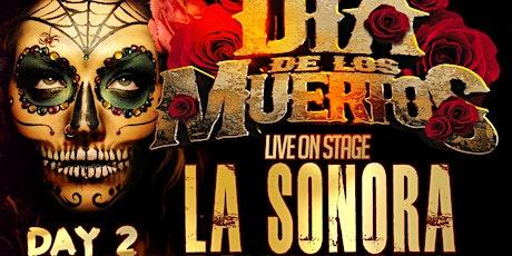 SATURDAY La Sonora Dinamita full band de Colombia Dia de los Muertos Nov 6 tickets
