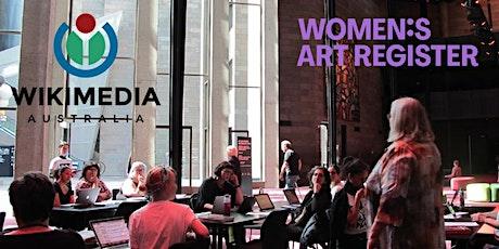 Winter Wiki: Women's Art Register Wikipedia Edit-a-thon tickets