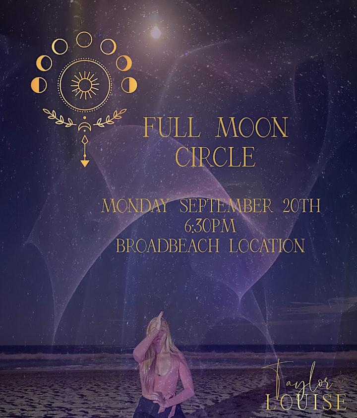September Full Moon Beach Circle image