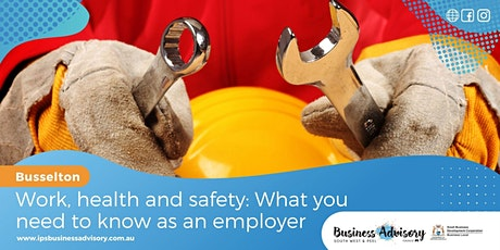 Work, Health and Safety: What you need to know as an employer tickets