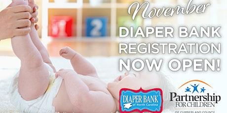 Registration for Drive-Thru Diaper Distribution ~ November 2021 tickets
