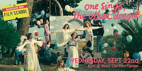 Bargain Bin Film School: ONE SINGS, THE OTHER DOESN'T tickets