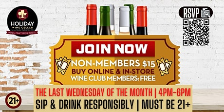 #WINEsday |Wine Club Social Meet & Greet tickets