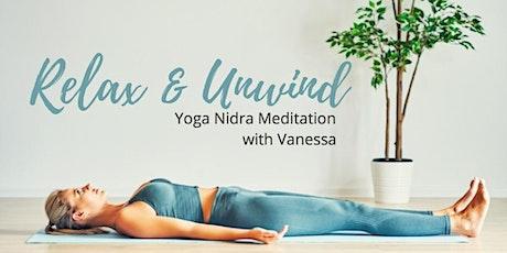 Relax & Unwind!  Yoga Nidra Meditation tickets
