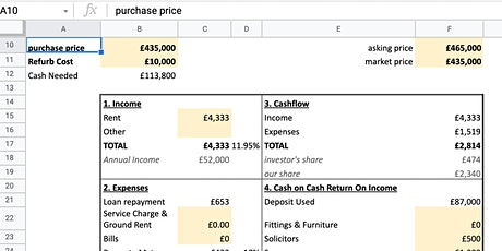 Excel Spreadsheets: Learn how to create formulas and calculations tickets
