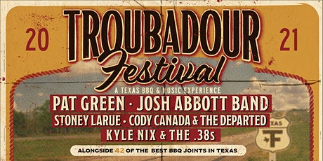 2021 Troubadour Festival tickets