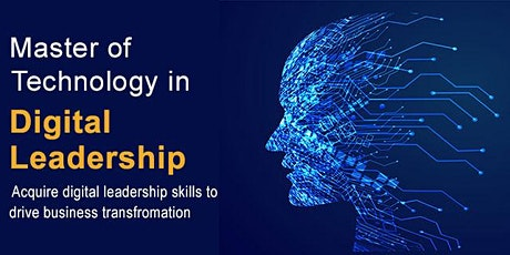 NUS Master of Technology in Digital Leadership Info Session (On Campus) tickets