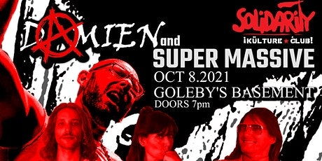 SKC #175 ~ Damien (Single Launch) + Super Massive tickets