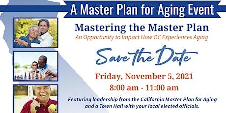 Mastering the Master Plan (H Louis Lake Senior Center) tickets