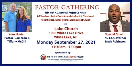 Pastor Gathering NC-White Lake tickets