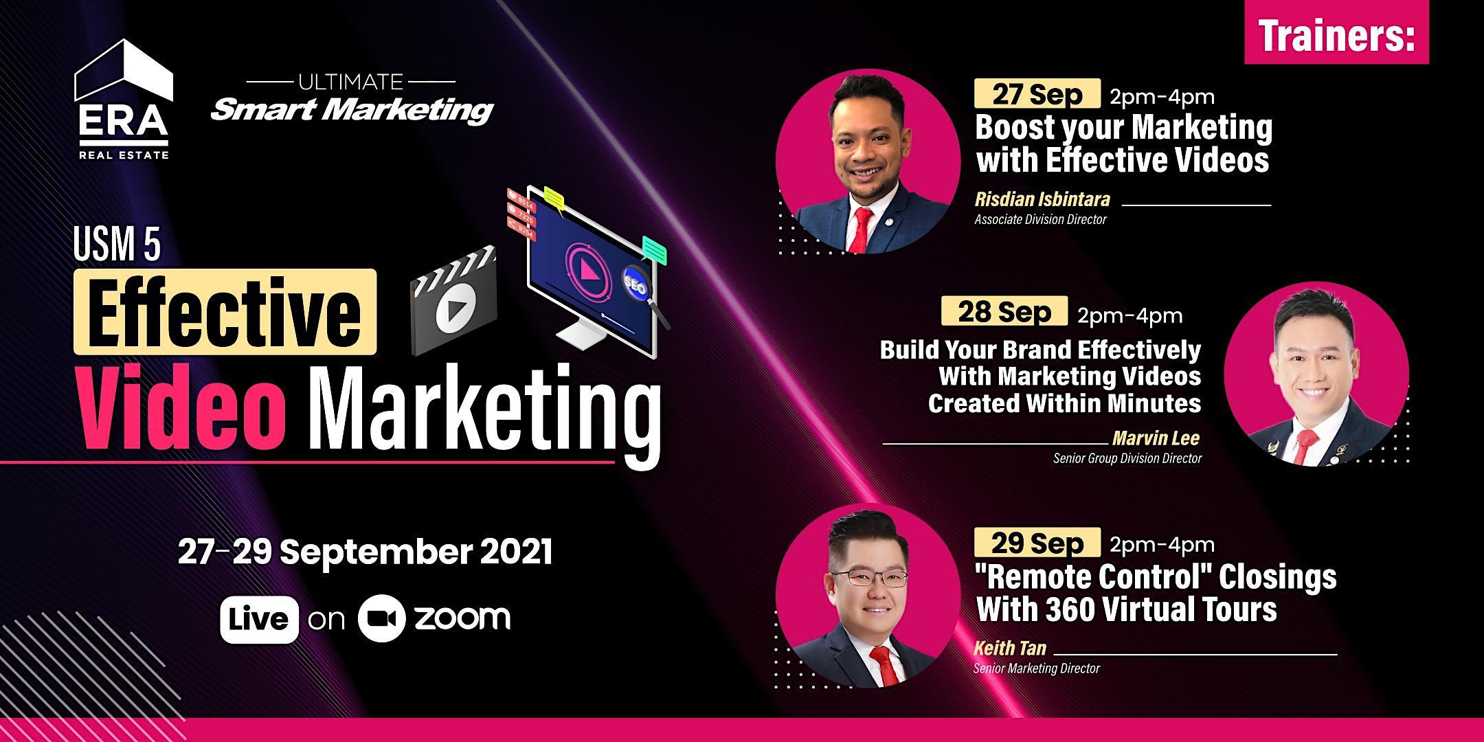 USM 5: Effective Video Marketing