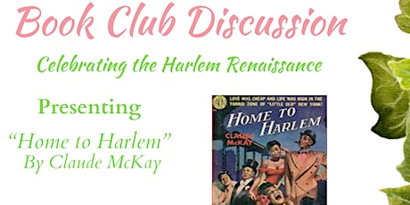 Book Club Discussion : Celebrating the Harlem Renaissance tickets