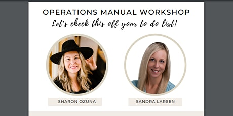 Operations Manual Workshop tickets