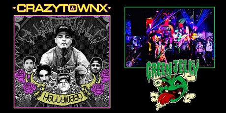 CrazyTownX and Green Jelly at Southport Hall tickets