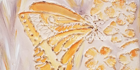 Create Mixed Media:Shaping & Sculpting: Butterfly Kisses with Sonia Farrell tickets