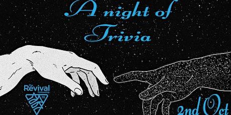 A Night of Trivia tickets