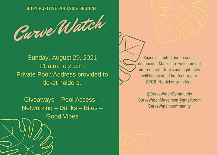 CurveWatch Poolside Brunch Meetup image