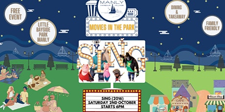 Free Movies in the Park: Sing (2016) tickets