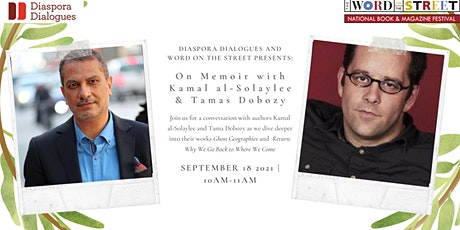 In Conversation with Kamal Al-Solaylee and Tamas Dobozy tickets