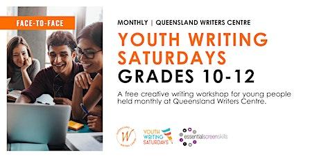 Youth Writing Saturdays: Grades 10 -12 tickets