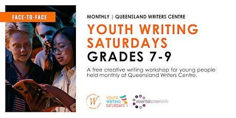 Youth Writing Saturdays: Grades 7-9 tickets