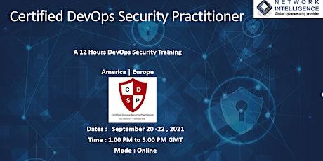 Certified DevOps Security Practitioner_D tickets