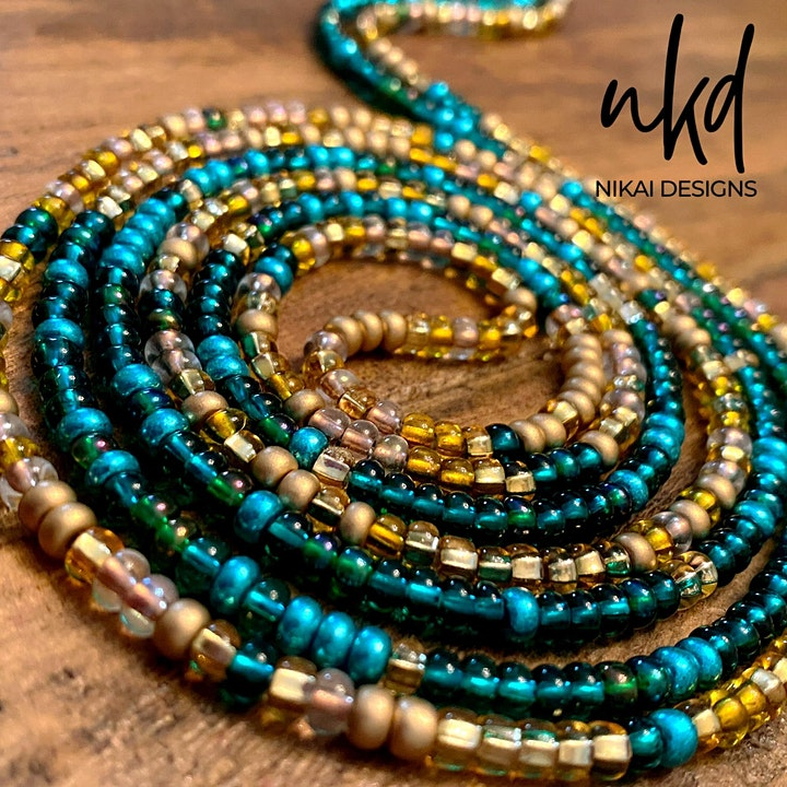 Waist Beads + Wine image
