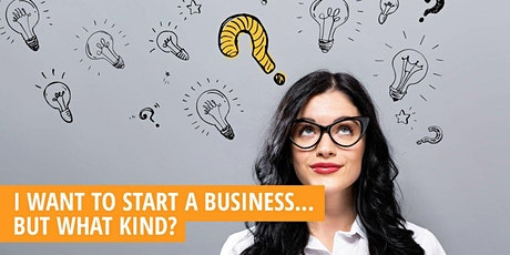 What Kind of Business Should I Start? tickets