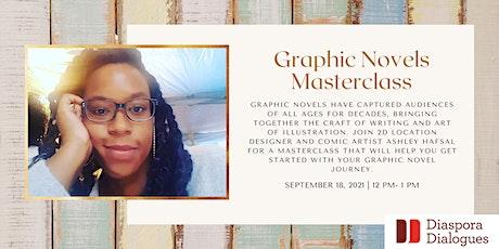 Graphic Novels Masterclass tickets