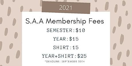 SAA Membership tickets