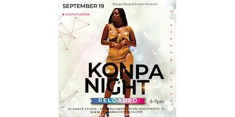 KONPA NIGHT RELOADED - SOUTH FLORIDA tickets