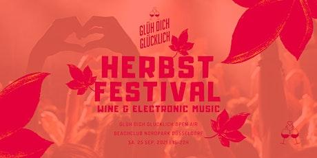 Glüh Dich Glücklich Herbstfestival 2021 Tickets