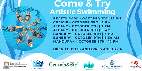 Artistic Swimming - Bunbury tickets