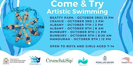 Artistic Swimming - Mandurah tickets