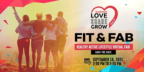 Fit and Fab: Healthy Active Lifestyle Virtual Fair billets