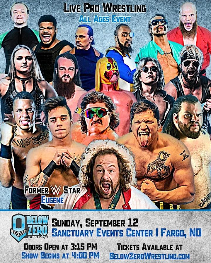 Below Zero Wrestling at Sanctuary Events Center image
