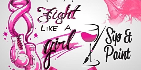 Fight Like A Girl Paint & Sip tickets
