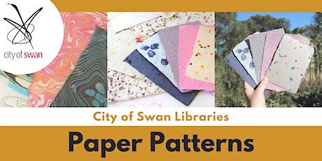 Ingrid Mulder: Paper Patterns for Kids (Bullsbrook) tickets