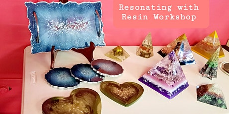 Resin art classes! 2hr resin art class + 10%  off all products in store tickets