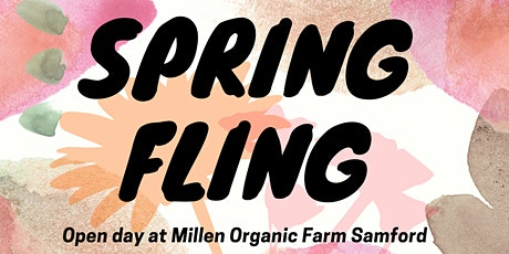 Spring Fling -OPEN DAY , Bookings Essential tickets