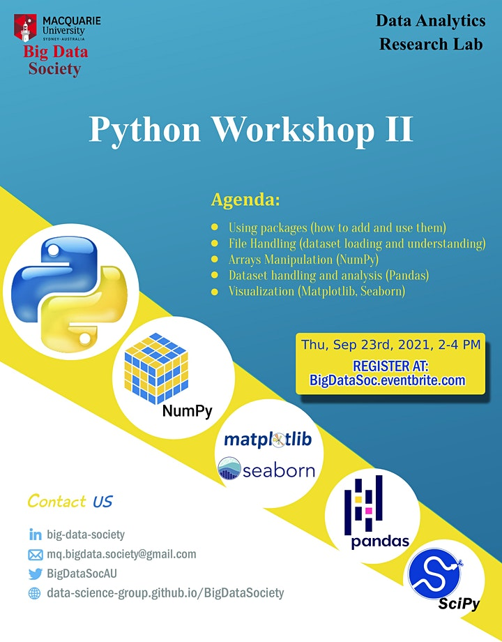 Python Workshop II image