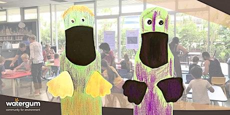 Platypus Fun with Watergum - Kids Workshop tickets