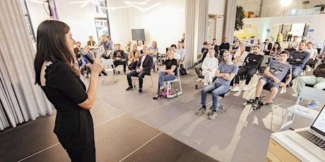 Endpräsentation Postgaragen Startups Batch#3 Tickets